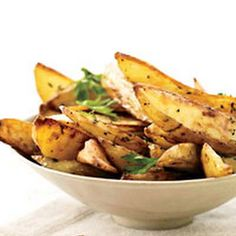 Oven Fries with Roasted Garlic Recipe - Key Ingredient