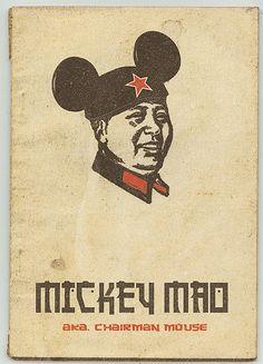 Mickey Mao  #Mao + #MickeyMouse