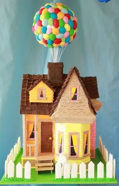 From the movie Up! Kids would love this!