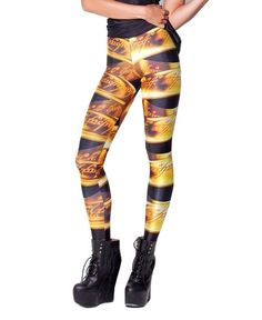Fashionable Musical Notes Pattern Leggings
