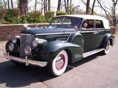 1939 Cadillac V-16 Convertible Sedan.