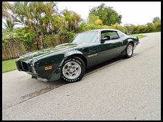 1973 Pontiac Trans Am Super Duty 455 CI, Automatic