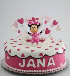 Minie Mouse cake by BioLed