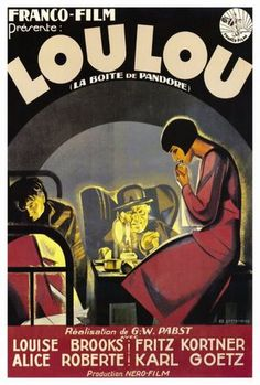 """Loulou"" G.W.Pabst w Louise Brooks"