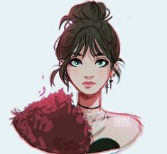 Character Design Illustration By Itslopez Pretty Art, Cute Art, Cute Drawings, Drawing Sketches, Eye Sketch, Itslopez, Cartoon Art Styles, People Art, Character Drawing