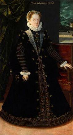 1577 - Maria Anna of Bavaria, 1551–1608 - daughter of Albert V & wife of Archduke Charles II of Austria