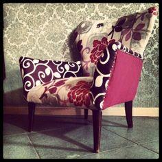 Poltroncina #Vintage Upcycled. di almost nine su DaWanda.com