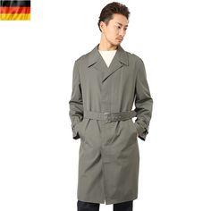 実物 新品 東ドイツ軍ステンカラーコート