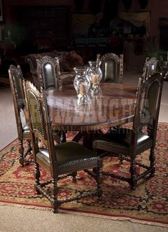 Majestic Round Oval Dining Table