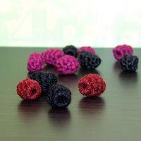 Crochet Raspberries - Free Pattern