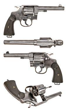 UK Pistol 1914 Colt New Service full. Gun Vault, Revolver Pistol, Tactical Equipment, Lever Action, Fire Powers, Cool Guns, Guns And Ammo, War Machine, Survival Kit