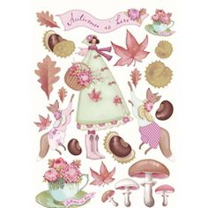 Tilda Autumn garden cut out