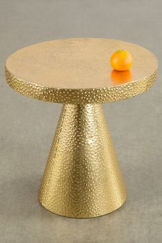 Vogue Gold Table/Stool by Statements by J on @HauteLook