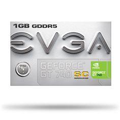 #Evga nvidia geforce gt 740 1gb scheda video  ad Euro 91.27 in #Pc stampanti monitor>>componenti #Elettronica