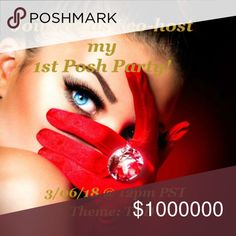 ✨Party Time✨ ~ ✨3/06/18✨ I'm super excited and honored to be co-hosting my 1st Posh Party on Tuesday 3/06/18! Theme TBD - To be considered for a host pick follow me, like this listing, and share to your followers! As always,  HAPPY POSHING!✨ Other