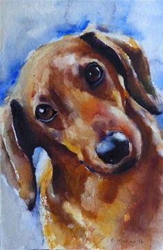"Daily Paintworks - ""adopt210"" - Original Fine Art for Sale - © Katya Minkina"