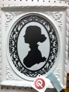 Hey, I found this really awesome Etsy listing at http://www.etsy.com/listing/157697834/woman-silhouette-framed-art