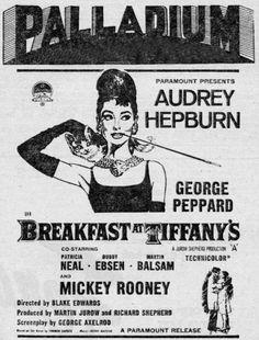 Breakfast at Tiffany's Playbill