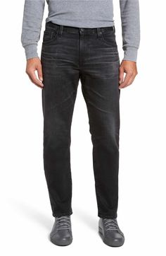 e080b384237d AG Graduate Slim Straight Fit Jeans (7 Years Asphalt)