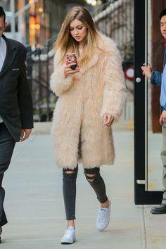 The key to Gigi Hadid's perfect street style