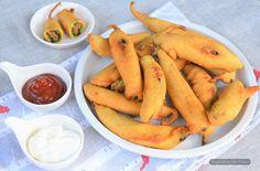 Mirchi Pakoda / Dry Masala Stuffed Chili Pepper Fritters – Simple Gluten Free Kitchen