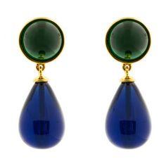 CAMILLE K Biltmore Drop Earrings II