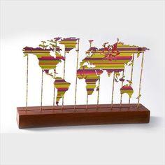 Mapa Mundi por Ana Paula Castro