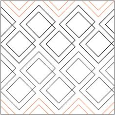 Quilt Stencils By Patricia Ritter Diagonal Plaid 7.25in