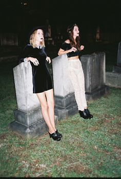 Working the velvet in a graveyard x