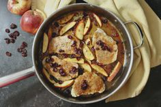These Apple Cranberry Pork Chops will change the way you see pork chops!