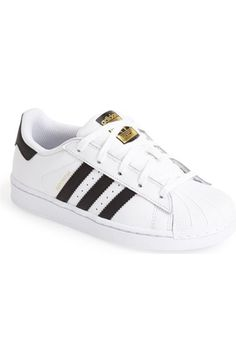 adidas 'Superstar C' Sneaker (Toddler & Little Kid) available at #Nordstrom
