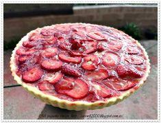 Mi pequeño rincon: Tarta de fresas