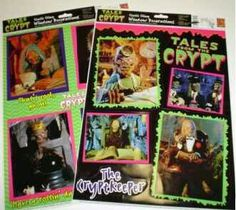 Window Clings Crypt Keeper Tales From the Crypt via shared by Tales From The Crypt, Window Clings