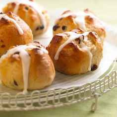 Hot Cross Buns for Easter brunch! + 39 more Easter recipes: http://www.midwestliving.com/food/holiday/40-delicious-easter-recipes/?page=1