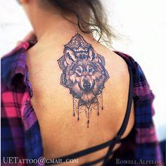 wolf tattoo rib - Google Search