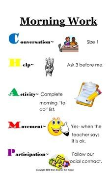 Posters for Classroom Behavior Management Mega Bundle- Clear, Consistent, Visuals for Daily Management