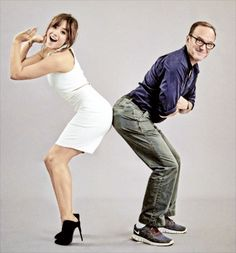 agents of shield | Tumblr - Chloe Bennet (Skye) and Clark Gregg (Coulson).