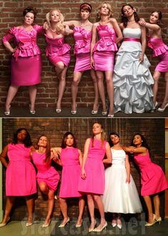 Definitely want a Bridesmaids posed picture of me and my bridesmaids. <3