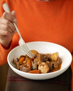 Beef Stew Recipe -- crock pot Martha Stewart