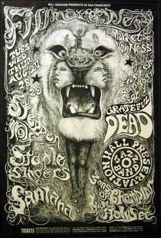 Grateful Dead and Santana