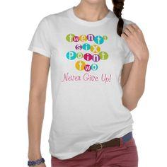 26.2 Never Give Up T-shirts  #marathon #running #t-shirts