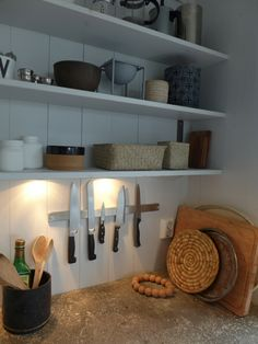 Perfect knife rack