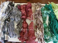 Our Old Country Store: Organizing The Rag Rug Stash