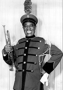 Louis Armstrong - nicknamed Satchmo or Pops, was an American trumpeter, composer, singer and occasional actor who was one of the most influential figures in jazz. His career spanned five decades, from the to the and different eras in jazz. Soul Music, Music Is Life, Hoagy Carmichael, Childhood Images, Song Of The Year, King Louie, Louis Armstrong, Jazz Blues, Fun To Be One