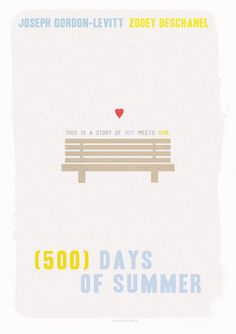 (500) Days of Summer minimal posters | Tumblr