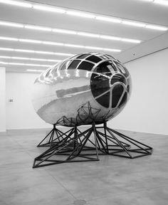 billdomonkos:Axis Mundi (Matthew Day Jackson, cockpit of a Abstract Sculpture, Sculpture Art, Metal Sculptures, Jackson, Korean Art, Dark Matter, Land Art, Light Art, Motion Design