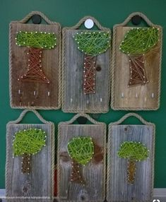 Holzarbeiten - Make Up Wood Crafts, Diy And Crafts, Arts And Crafts, Wooden Table Diy, Wood Table, Diy Wood, Diy For Kids, Crafts For Kids, Forest School Activities