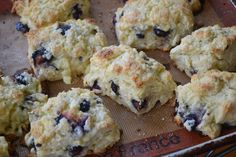 Blueberry White Chocolate Scones:  I love the Raspberry White Chocolate Scones at Lakes Latte so I might try to substitute raspberries for the blueberries