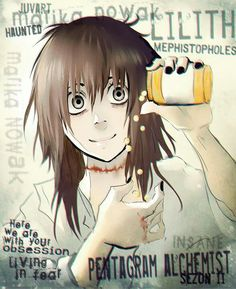 Marika pentagram Alchemist kattlett