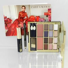 Estee Lauder Luxe Color Holiday 2014 Palette Pure Color Eyeshadow, Blush, Liner